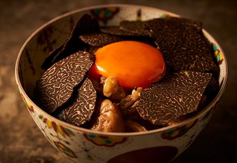 黒トリュフを丸ごと1個使い切る、贅沢の極み!